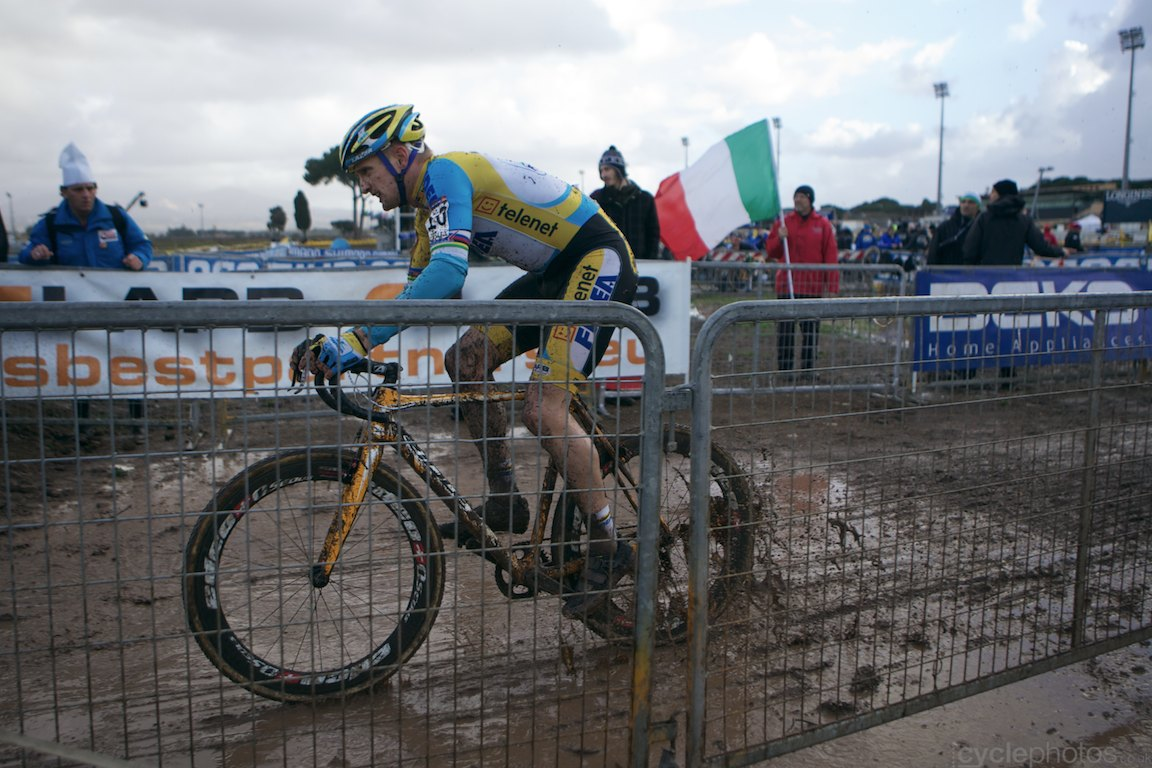 Cyclocross photos from the World Cup #6, Rome by cyclephotos
