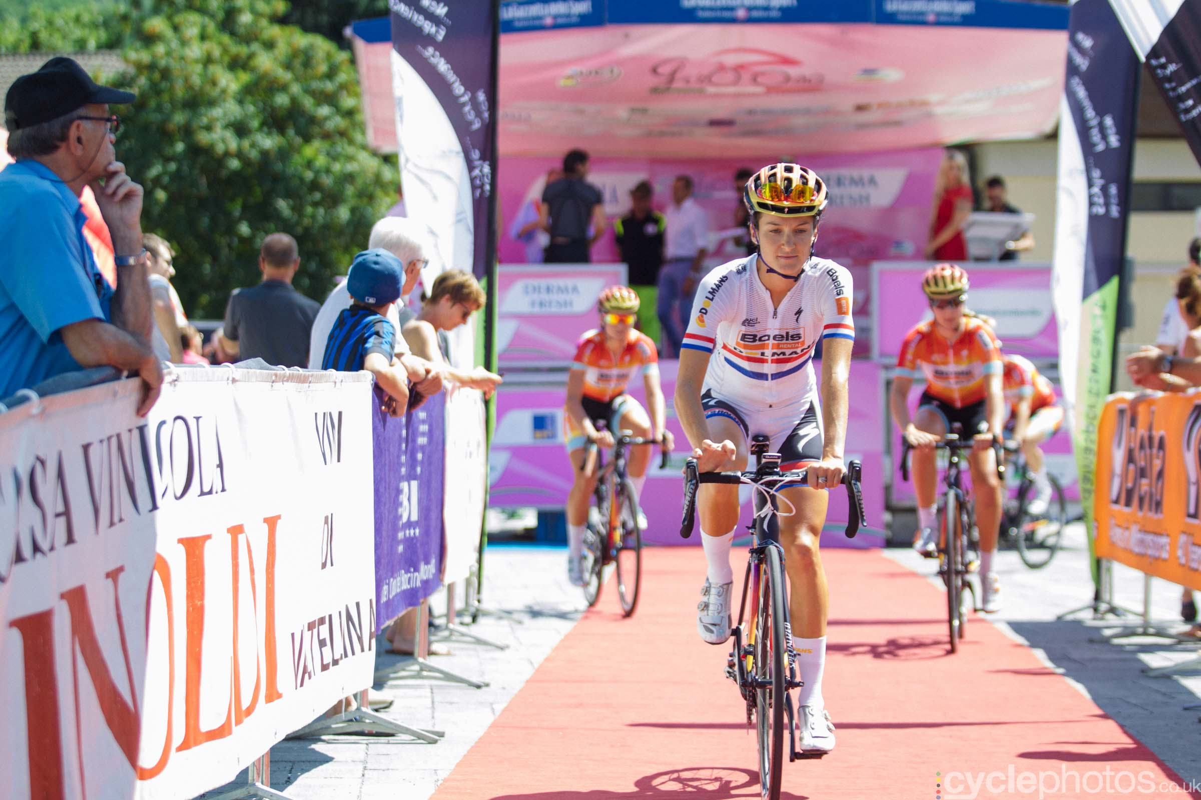 Lizzie Armitstead at the 6th stage of the 2015 Giro Rosa