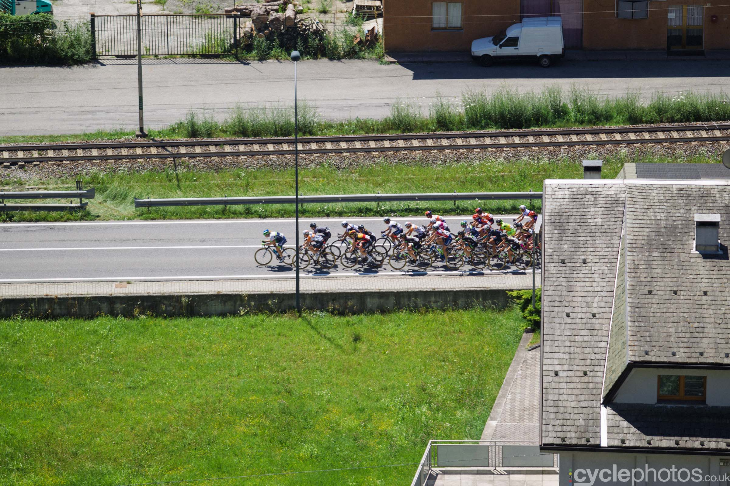 6th stage of the 2015 Giro Rosa