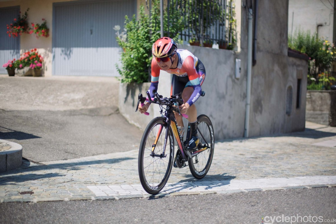 Megan Guarnier during the 8th Stage of the 2015 Giro Rosa