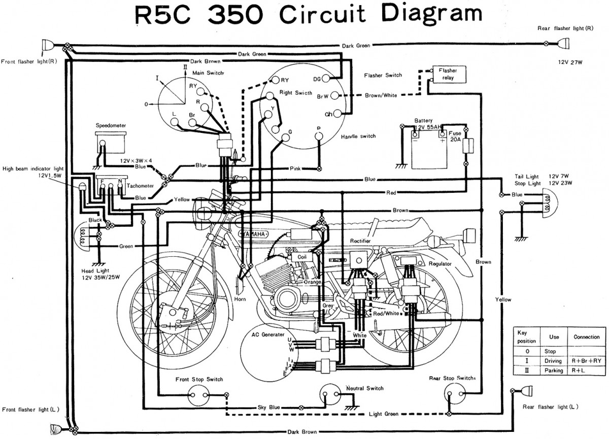 Yamaha Kodiak Wiring Diagram