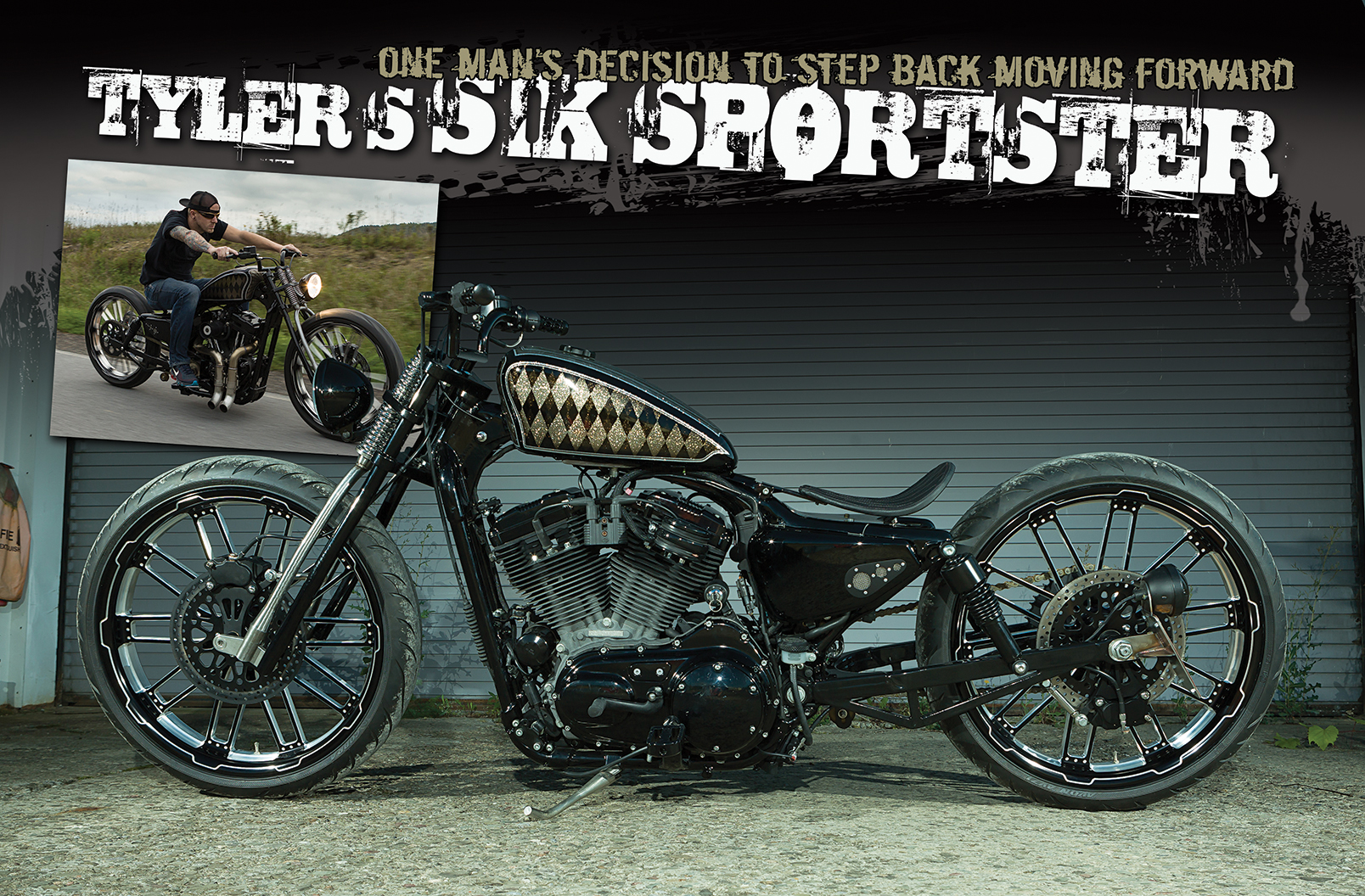tyler s sik sportster the cycle