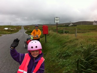 South Uist, on the way down to Kibride Campsite