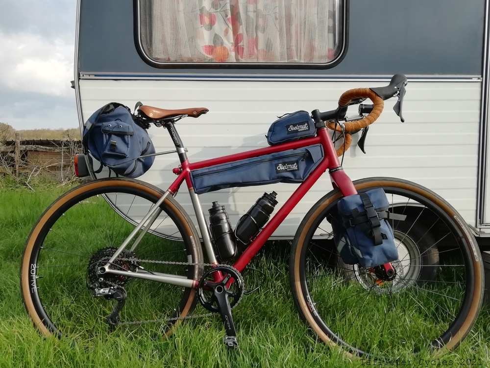 Vélo Taillefer Cycles, Pierre Glottin, Mangeuse de kilometre, Longue distance