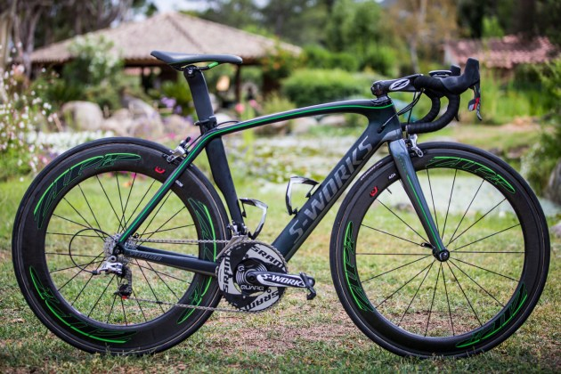 Cav rides SRAM hydraulic brakes in Tour de France