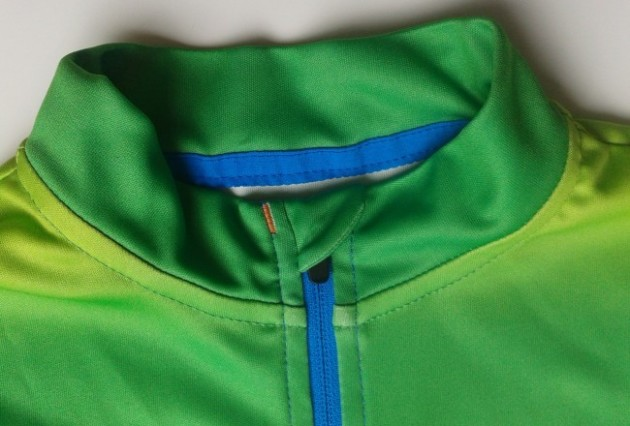 Nice details on the Pere jersey give a quality feel