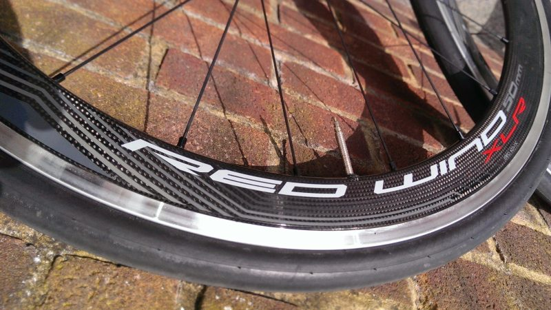 Fulcrum Red Wind XLR Dark Label Wheelset