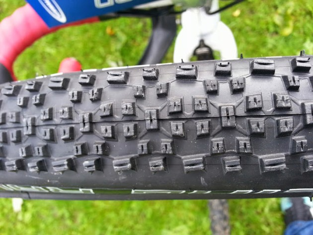 Close up of Racing Ralph Tread