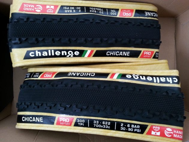 Challenge Chicane Tyres