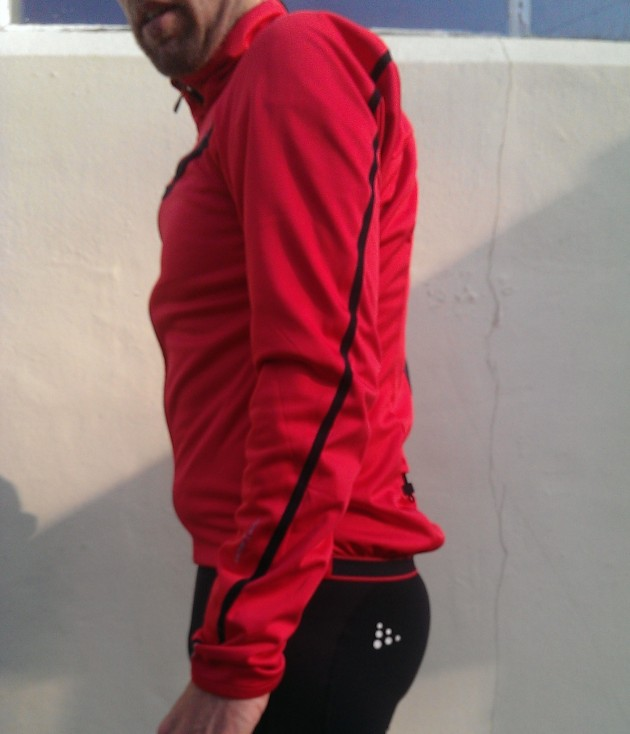 Performance Stretch Jacket side view