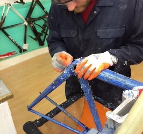 Carbon Bicycle Frame Repair