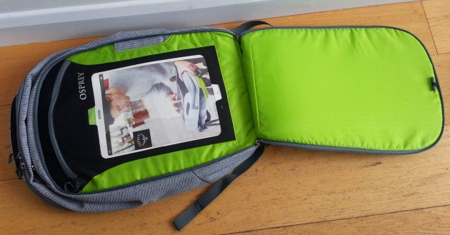 """Cycberport is a """"special pouch with a transparent screen allowing the user to operate the touchscreen"""""""