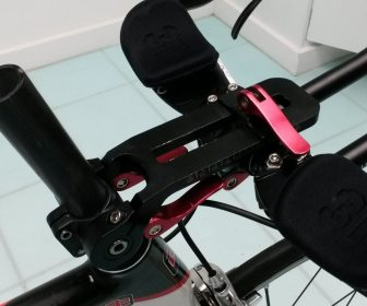Adjustable stem used to determine correct position
