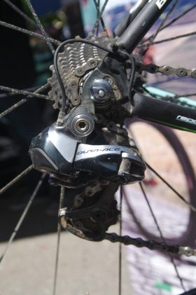 Electronic rear mech for Vanmarcke