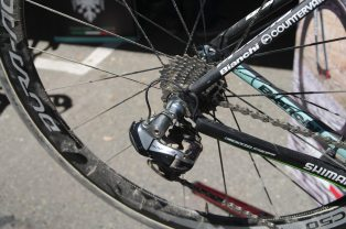 Vanmarcke's Roubaix bike - still dirty