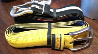 Each belt is completely unique and there's lots of choice