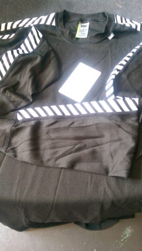 Reflective stripes are the trademark of this famous baselayer