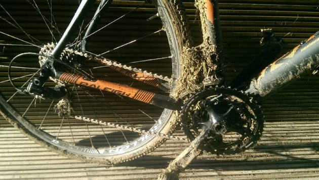This is the kind of situation the SRAM Force CX1 single ring set-up can help with