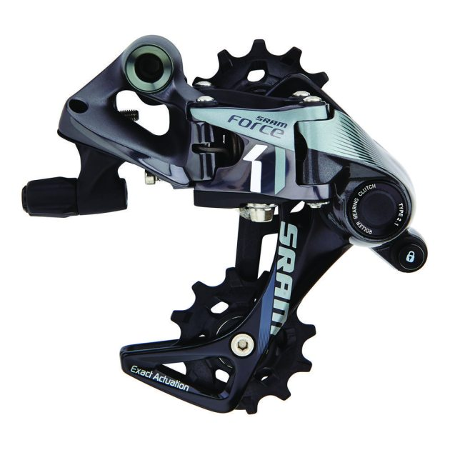 The feature packed and very smart looking SRAM Force CX1 Rear Derailleur