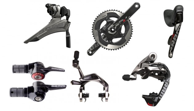 SRAM will be supplying Roompot/Orange with their Red groupset