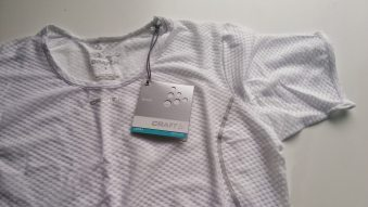 The Cool Mesh Superlight Base Layer has a large mesh layer that helps wick away sweat