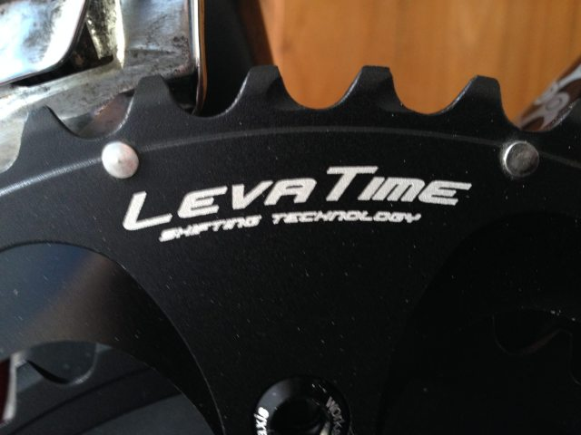 53/39 LevaTime Cold Forged Chainrings - teeth detail