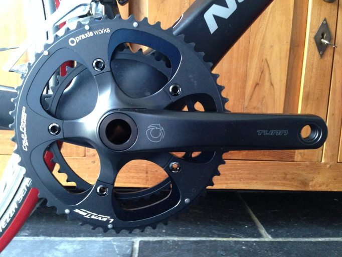 TURN Cranks with Praxis Works LevaTime chainrings