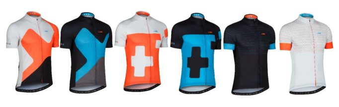 The dhb Blok range comes in two colour ways and three designs, these are the men's versions