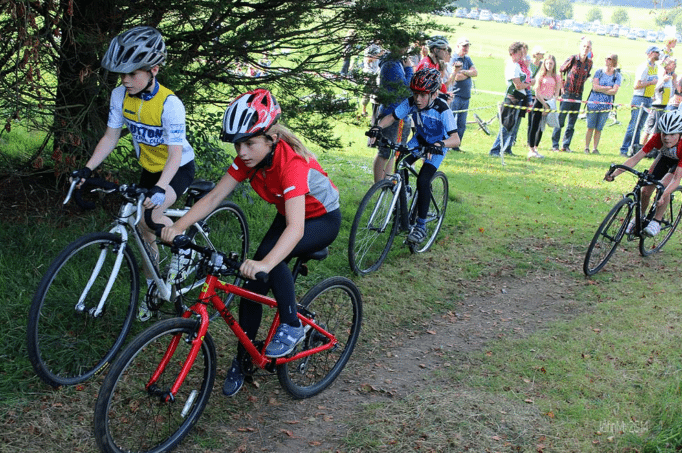 More and more, kids are riding drop rather than flat bars.