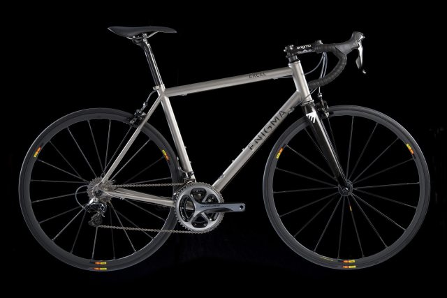 The Excel is Sussex frame builder Enigma's flagship frame. Fast, light and will last forever