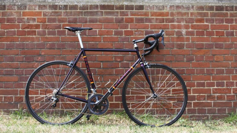 Malcolm Custom Bicycles' Custom Steel Frame
