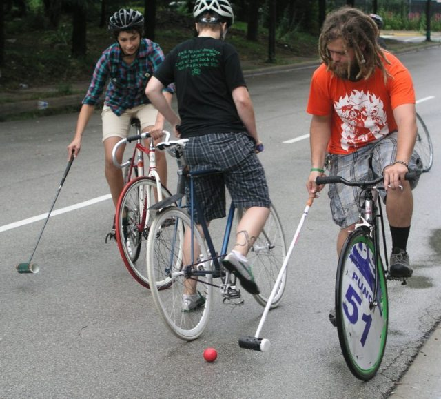 Wondering what to do with your fixie and hipster outfit? Photo courtesy of Incase