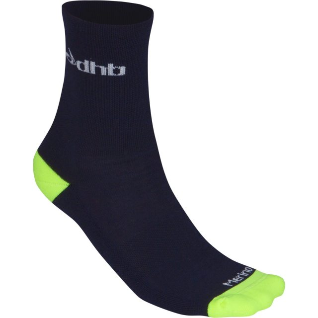 dhb's Aeron Winter Merino sock, feel plush and will hopefully keep my toes warm through the winter