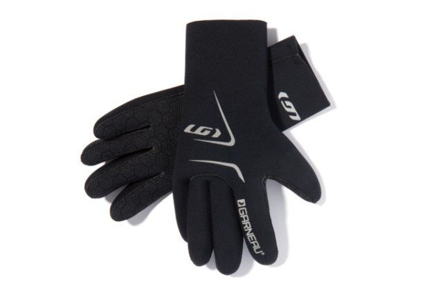 The Louis Garneau Monsoon glove, when you absoluetly, positively have to get out and ride