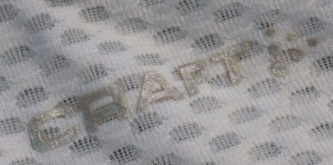 Up close you can see how Craft's mesh is constructed