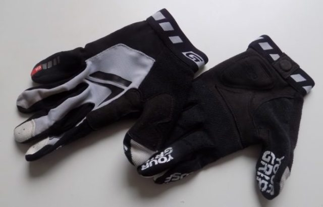 GripGrab Racing long-fingered, lightweight gloves that have proven remarkably tough