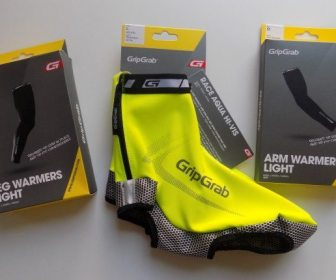 Fresh out of the box and the AquaRepel shoe covers are bright!