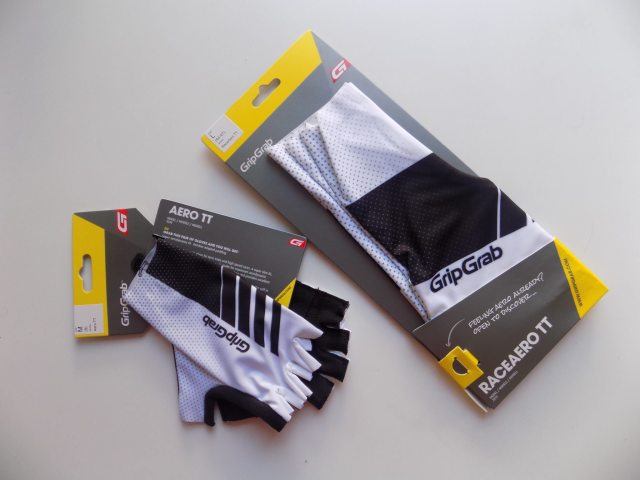 The Aero TT gloves and RaceAero TT shoe covers look to be race day only items