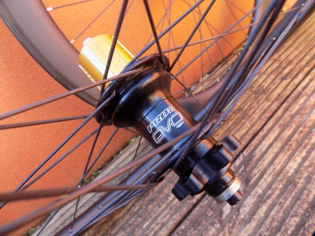 Hope Pro2 hubs are at the heart of these review wheels, Pro4 will be the standard