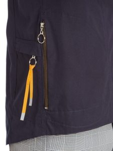 Easy to use zip pulls on the 531cc jacket