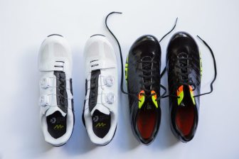 The Giant Surge and Giro Empire SLX, two different takes on the ultimate shoe