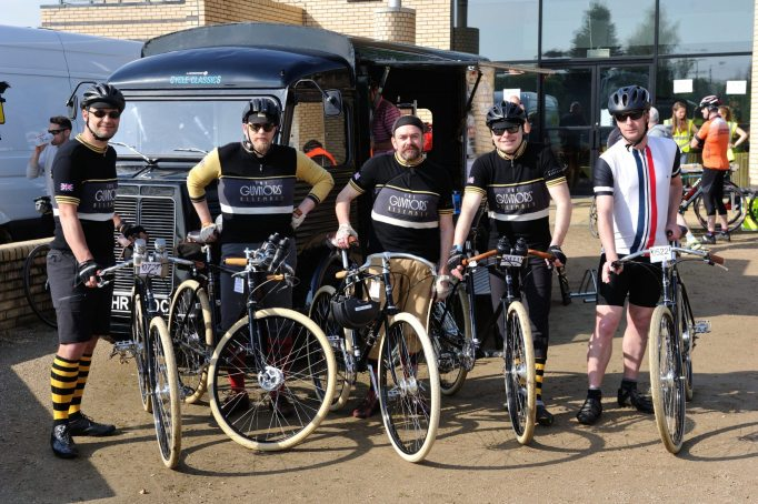 These guys were tackling the Lapierre Tour of the Black Country in style