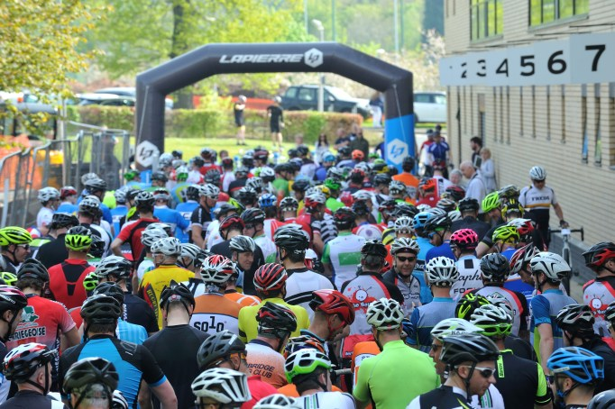 Over 700 riders would tackle today's route