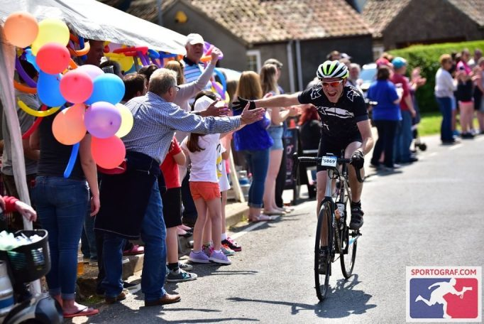 Some riders were clearly loving the attention. Photo courtesy of Sportograf