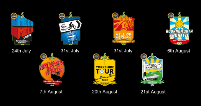 There are seven more summer events you can do, before the autumn