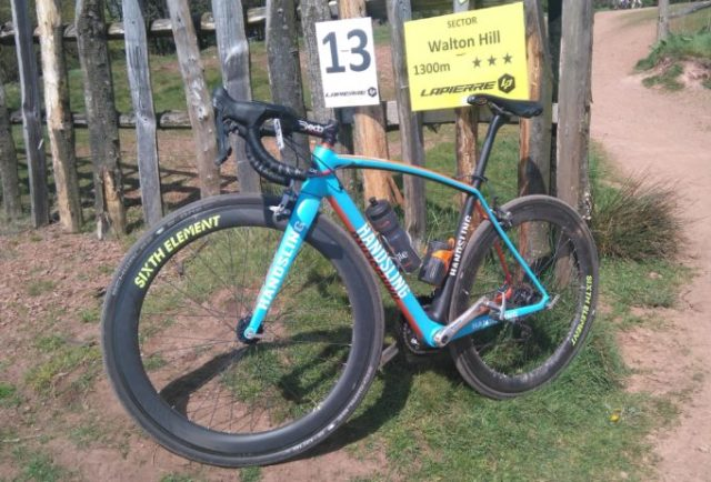 Tackling the Tour of the Black Country with some Schwalbe S-One tubeless tyres