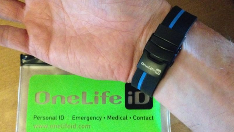 Onelife Stealth Squadra ID Wristband