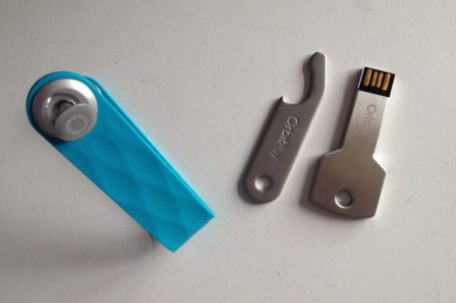 USB stick and bottle opener, what else do you need on a key ring?
