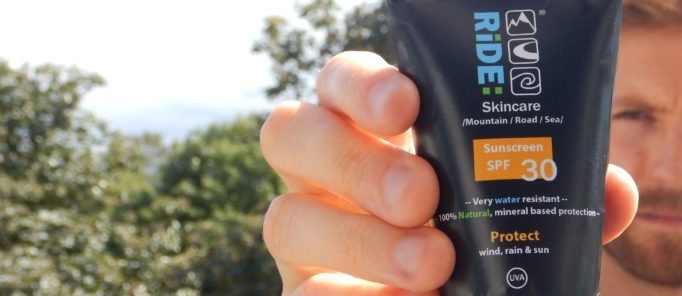 Ride Skincare, looking after your skin