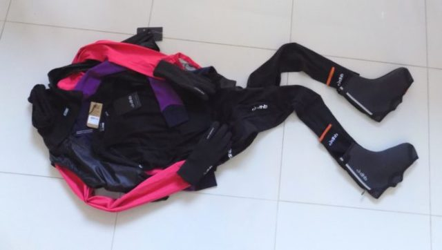 A selection of dhb's Aeron Women's Winter clothing. They've got you covered